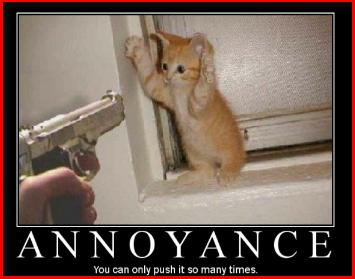 Annoyance