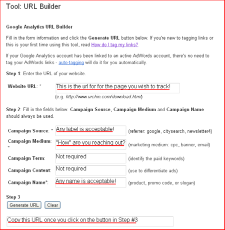 Google-Campaign-Builder