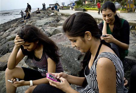 Smartphone-Reading