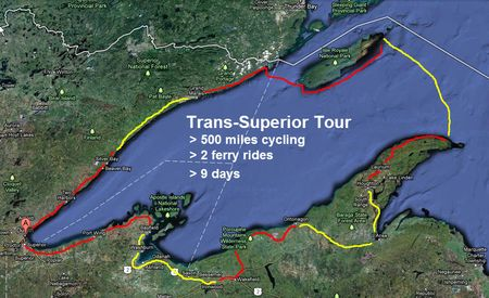 Trans-Superior-Tour-Map
