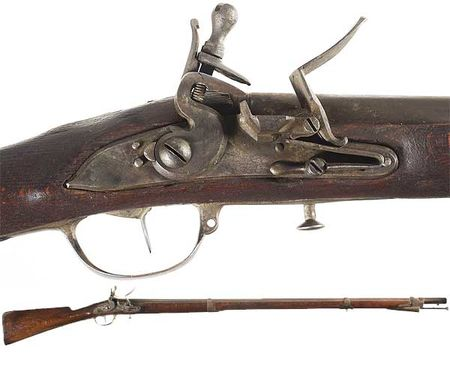 Revolutionary-War-Era-Prussian-Flintlock-Musket
