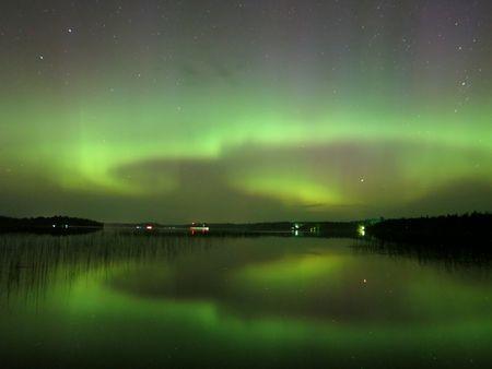 Northern Lights Water Circle 1