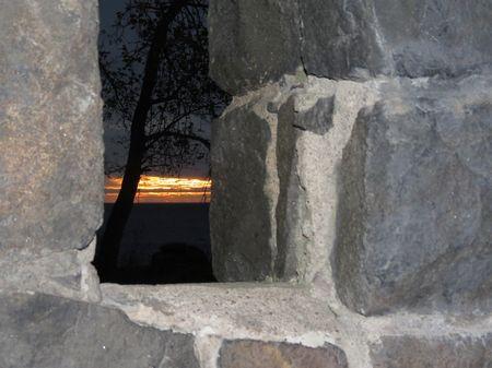 Stone-Shelter-Sunrise